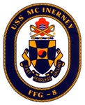 USS McInerney FFG-8 Navy Ship