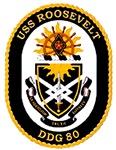 USS Roosevelt DDG-80 Navy Ship
