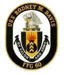 USS Rodney M. Davis FFG-60 Navy Ship