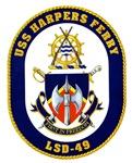 USS Harpers Ferry LSD-49 Navy Ship