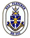 USS Fletcher DD 992 Navy Ship
