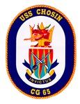 USS Chosin CG 65 Navy Ship