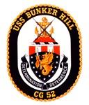 USS Bunker Hill CG-52 Navy Ship