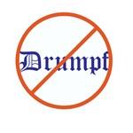 Anti Trump, No Drumpf