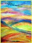 Landscape! Colorful, abstract!