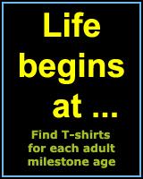 LIFE BEGINS AT...