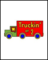 TRUCK ON A TEE FOR 2 YEAR OLDS