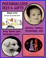 PERSONALIZED T-SHIRTS & GIFTS