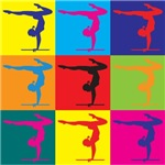 Gymnastics Pop Art