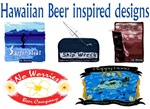 Hawaiian Beer inspired designs