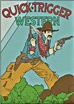 Vintage Comic Cowboy Gunslinger