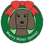 American Water Spaniel Christmas Ornaments