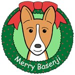 Basenji Christmas Ornaments