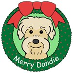 Dandie Dinmont Terrier Christmas Ornaments