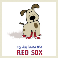 My Dog Loves the Red Sox