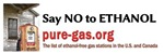 Say NO to ETHANOL (10x3)