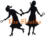 The Sleuths: 2 Girl Silhouettes