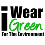 I Wear Green For The Environment T-Shirts & Gifts