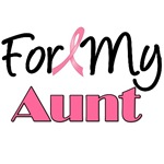 For My Aunt Breast Cancer T-Shirts & Gifts