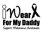 I Wear Black Ribbon For My Daddy T-Shirts & Gifts