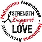 Melanoma Strength Support Love Shirts & Gifts