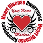 Heart Disease Awareness Matters T-Shirts & Gifts