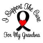 I Support The Cure Melanoma Grandma Shirts & Gifts