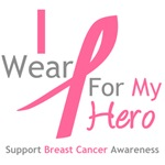 I Wear Pink For My Hero Shirts, Tees & Gift