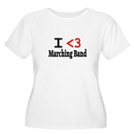 Marching Band and Instrument T-Shirts
