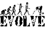 Baseball Evolution T-shirts