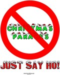 Christmas Parades - Just Say Ho