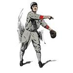 Old-Timey Baseball Player