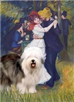 Dance at Bougival by Renoir<br>With an Old English