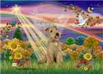 AUTUMN ANGEL<br> & Lakeland Terrier