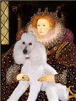 QUEEN ELIZABETH I<br>& White Standard Poodle #9