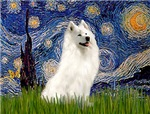 STARRY NIGHT<br>& Samoyed