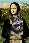 MONA LISA<br>& German Shepherd