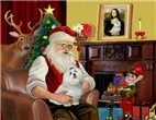 SANTA AT HOME<br>& Maltese #6