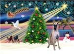CHRISTMAS MAGIC<br>Wtih a Fawn Great Dane (#20)