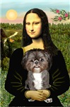 MONA LISA<br>& Shih Tzu (BW)