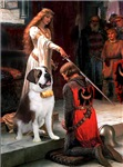 THE ACCOLADE<br>& Saint Bernard