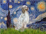STARRY NIGHT<br> & English Setter