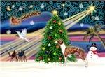 CHRISTMAS MAGIC<br> & Whippet #1