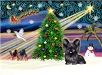 CHRISTMAS MAGIC<br>& Skye Terrier #4