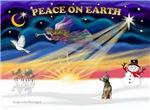 CHRISTMAS SUNRISE<br>& Xoloitzcuintle