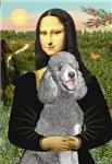 MONA LISA<br>& Standard Silver Poodle