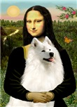 MONA LISA <br>& Samoyed