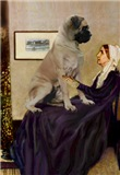 WHISTLER'S MOM<br>& Bull Mastiff