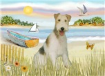 ROWBOAT<br>& Wire Fox Terrier