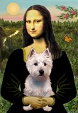 MONA LISA<br>& West Highland Terrier#6